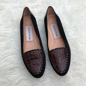 Vintage Nordstrom Leather Loafers Size 7